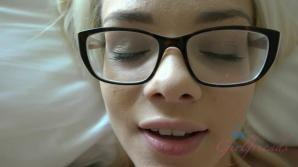 You were so tempted to cum on her face, creampie instead