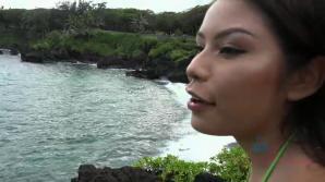 Sami takes a naughty tour around the island